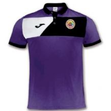 Le Cheile SS Crew II Polo Shirt Purple/Black - Adults